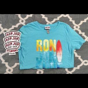 Ron Jon T-Shirt Juniors Large Fort Myers Stickers